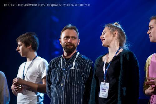 05 Próba w Teatrze Ziemi Rybnickiej przed Koncertem Laureatów