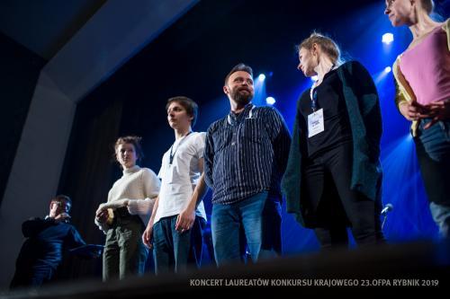 08 W Teatrze Ziemi Rybnickiej przed Koncertem Laureatów