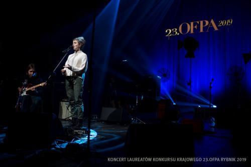 10 W Teatrze Ziemi Rybnickiej przed Koncertem Laureatów