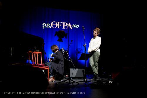 17 W Teatrze Ziemi Rybnickiej przed Koncertem Laureatów