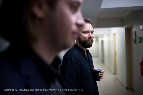 18 W Teatrze Ziemi Rybnickiej przed Koncertem Laureatów