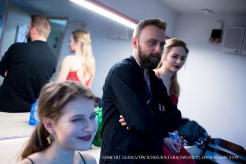 20 W Teatrze Ziemi Rybnickiej przed Koncertem Laureatów