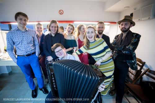 23 Próba w Teatrze Ziemi Rybnickiej przed Koncertem Laureatów