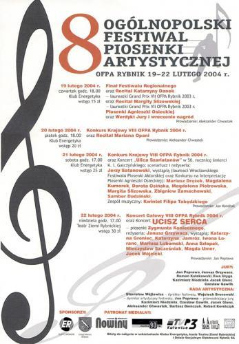 2004 plakat